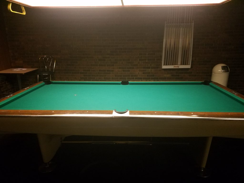 Billiards Northway Lanes - How big of a room for a pool table